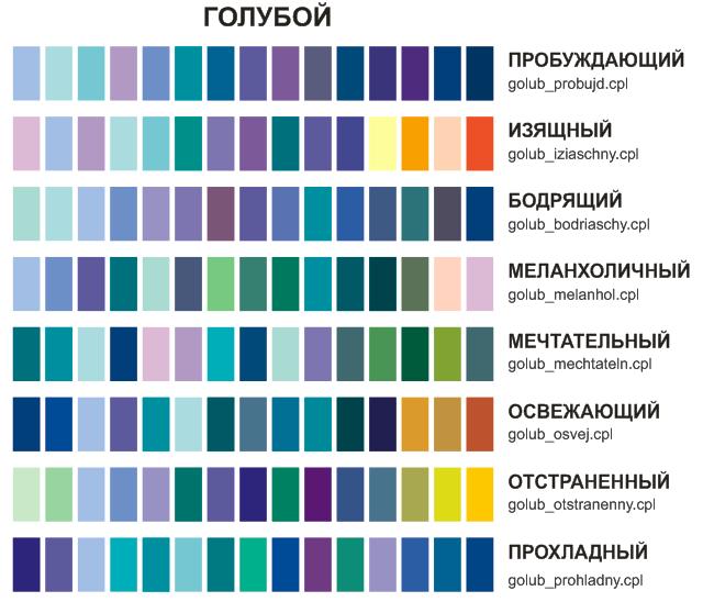 Как из синей краски сделать темно-синий цвет