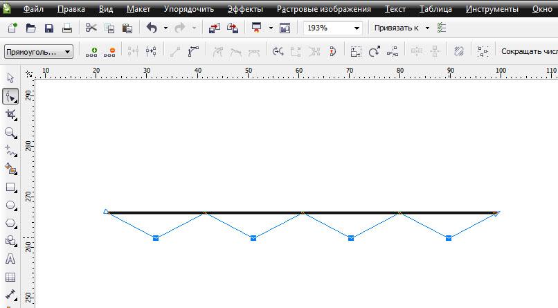 Как сделать волнистую линию в фотошопе фото 858